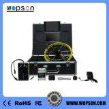 appareil-photo de drain d'inspection d'égout de câble de 50m, tête d'appareil-photo de 23mm avec DVR