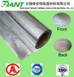 O dobro tomou o partido folha tecida, dobra a folha de alumínio tomada o partido, folha tomada o partido dobro da isolação