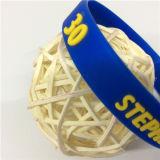 Costume profissional presente conhecido gravado da promoção do Wristband do silicone