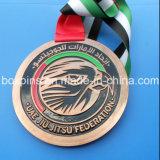 아랍 에미리트 연방 Jiu-Jitsu 연맹 메달 Jiu-Jitsu 큰 메달