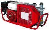 Instrumento de respiração do ar que reenche o compressor de ar