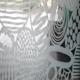 Nuevo vidrio colorido de temple del arte de la impresión para el uso del edificio