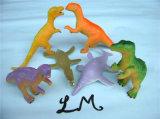 묵 신축성이 있는 작은 TPR 묵 아이를 위한 스티키 악어 장난감