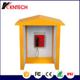 Kntechの打ち負かされない価格によってカスタマイズされる電話ボックスが付いている防水電話ボックス