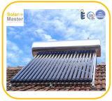 Chauffe-eau solaires de pression compacte