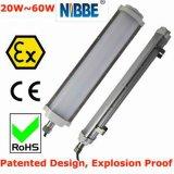 Diodo emissor de luz à prova de explosões de Atex Iecex Zone1 Zone21 linear & luz linear Emergency do diodo emissor de luz