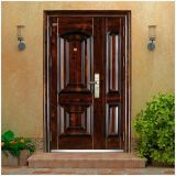 Nuevo diseño puerta de acero de Monther y del hijo en buen precio