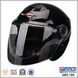 涼しい黒の開いた表面モーターバイクまたはオートバイまたはスクーターのヘルメット(OP229)