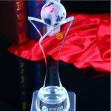 Quliaty élevé apprécient le trophée en cristal de cristal de récompense