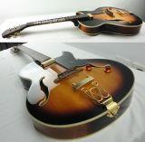 Гитара джаза типа Byrdland верхней части свода цвета тавра Aiersi электрическая