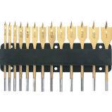 Олов-Coated размер дюйма бита лопаты 13PCS установленный в карточке волдыря