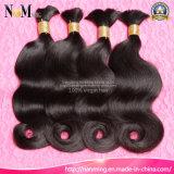 7A de hoogste Massa van het Menselijke Haar van het Haar van de Rang Echte Maleise Maagdelijke Ruwe