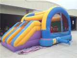 SaleのためのDouble Slideの新しいCommercial Rainbow Bouncy Castle