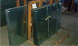 Vidro temperado do azul 8mm do espaço livre da grande quantidade para o edifício