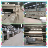 Linha de processamento do biscoito para o uso 2017 da fábrica