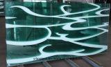 Vetro Tempered dello schermo di acquazzone con glassato, acido inciso, reticoli stampati e calcolati