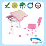 30-60 Grad-Zeichnung verwendeter Kind-Höhen-justierbarer Schreibtisch