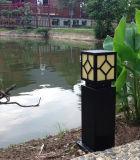 Lampada solare del giardino dell'indicatore luminoso del prato inglese del più nuovo ferro