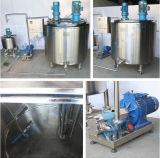 Precio eléctrico del pasteurizador del tratamiento por lotes de la leche de la calefacción