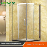 Cerco do chuveiro da porta da dobradiça da qualidade