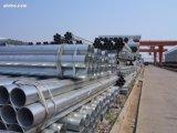 Tubulação de aço redonda do andaime BS1139, tubo galvanizado do andaime