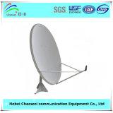 Польза приемника TV антенны спутниковой антенна-тарелки Ku-120cm напольная