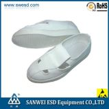 Elektronische Factory Cleanroom ESD Pu Leather Shoes (3W-9105)