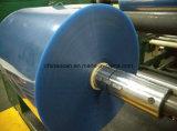 Carrete de película plástico de empaquetado claro fino del PVC para el embalaje de la ampolla