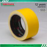 Sh318展覧会のカーペットの固定Somitapeのための黄色いカーペットテープかファブリックテープ