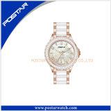 Orologio unisex bianco di modo della vigilanza del regalo