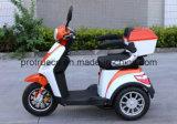 Tricycle électrique de batterie d'accumulateurs pour des adultes