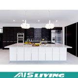 光沢のある白いラッカー北アメリカの食器棚の家具デザイン(AIS-K142)