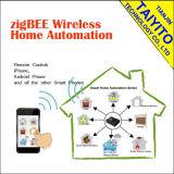 Radio elegante casera del Gateway de Zigbee del interruptor de control del sistema Domotics de la automatización del protocolo de Zigbee ha