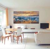 Популярная самомоднейшая домашняя картина маслом Acrylic украшения 2016