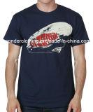 T-shirt en gros chaud d'été du coton fait sur commande des hommes de mode