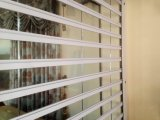 Handelspolycarbonat-Rollen-Blendenverschluss-Tür