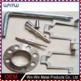 サービス精密CNC機械部品を処理するカスタマイズされた真鍮の付属品