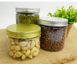 Jarro de alta qualidade 250g Pet Clear para alimentos secos
