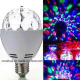 Bulbos estándar del partido LED de la rotación de Alemania RGB del Ce