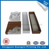 Rectángulo de empaquetado modificado para requisitos particulares de la joyería rígida de papel