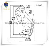 protection Carabiner d'automne de sûreté de crochet de l'échafaudage 25kn