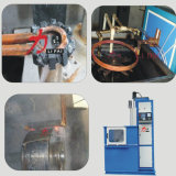 Máquina de corte de eixo de aquecimento de indução / engrenagem CNC