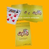 Изготовленный на заказ brandnew относящие к окружающей среде пластичные играя карточки