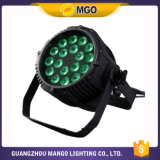 小型Stage Light RGBWA_UV 18X18W LED PAR Light