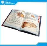 Livre de livre À couverture dure polychrome de qualité d'impression