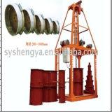 Canale concreto di filatura dritto Sy1000, frizione, canale sotterraneo, scolo, grondaia, tubo di marca di Shengya di irrigazione che fa macchina in Africa