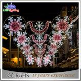 Multi покрашенный свет мотива улицы цветка СИД