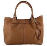 Le sac à main en cuir élégant de Tan de mode éventuelle