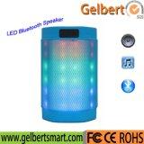 HiFi 휴대용 소형 LED 입체 음향 무선 Bluetooth 스피커