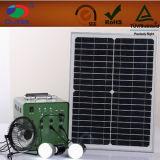 Système de d'éclairage solaire d'Oltlf3017 18V30W17ah